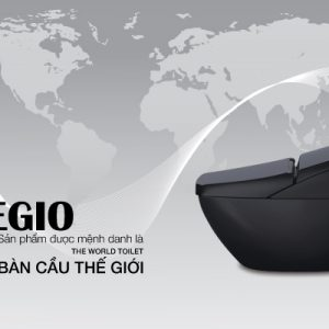 Bàn cầu cảm ứng REGIO DV-R115VH-VN/BKG