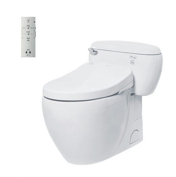 Bàn cầu nắp rửa Washlet TOTO MS366W4