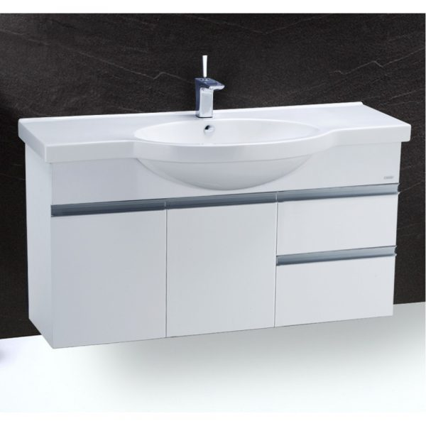 Tủ lavabo liền bàn CAESAR LF5324/EH213V
