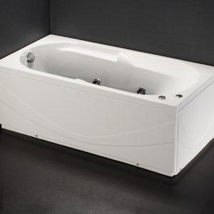 Bồn tắm Massage chân yếm CAESAR MT0250L(R)