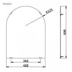 Gương phòng tắm TOTO YM4560FA
